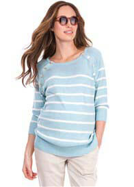 Queen Bee Estella Raglan Sleeve Maternity Nursing Jumper by Seraphine