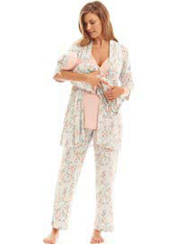 Everly Grey - Analise Mommy & Me PJ Gift Set in Cloud Blue