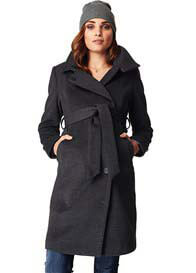 Noppies - Black Melange Ilena Coat