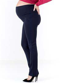 Floressa - Felicia Straight Leg Ponte Pants in Navy