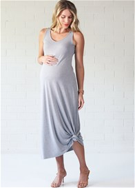 Trimester™ - Clinton Grey Maxi Dress