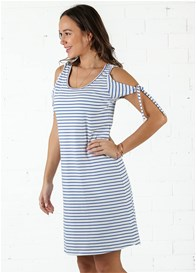 Trimester® - Tyler Tie Sleeves Nursing Dress