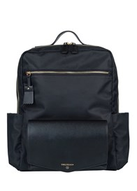 TWELVE little - Peek-a-Boo Backpack in Black